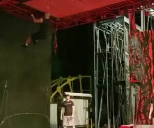 very advanced trampoline skills