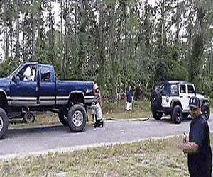 good old fashion redneck pull