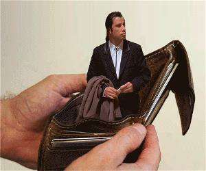 how my wallet feels