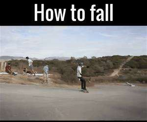 how to fall with style