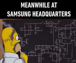 meanwhile at samsung headquarters