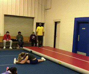 nice flip and recovery