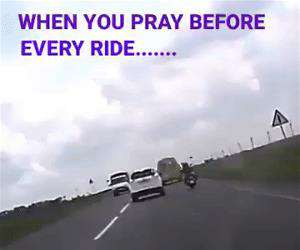 pray before every ride