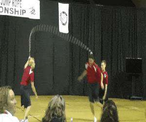 some awesome jump roping