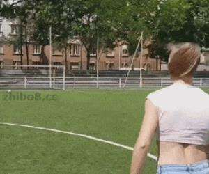 this girl kills it at soccer