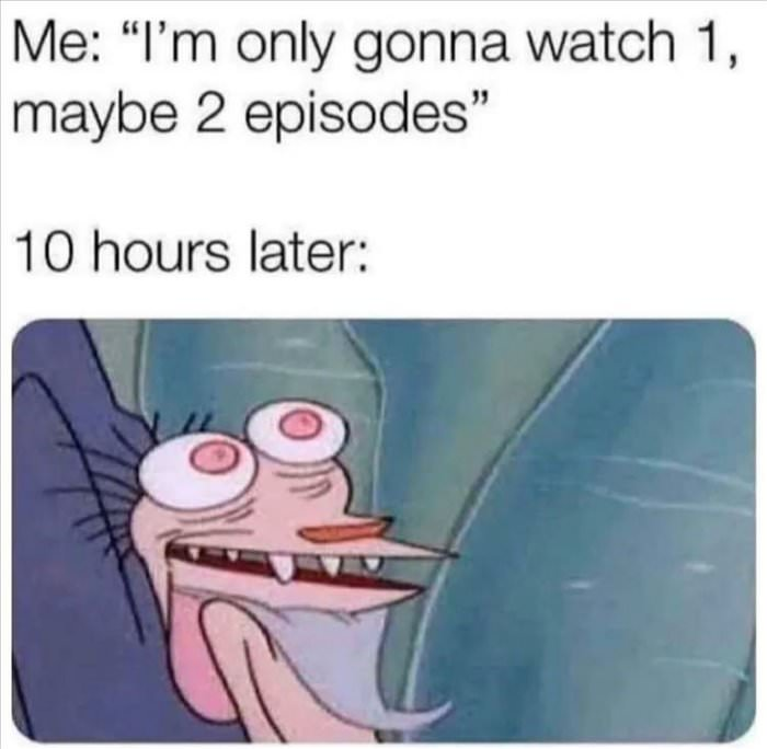 1 or 2 episodes