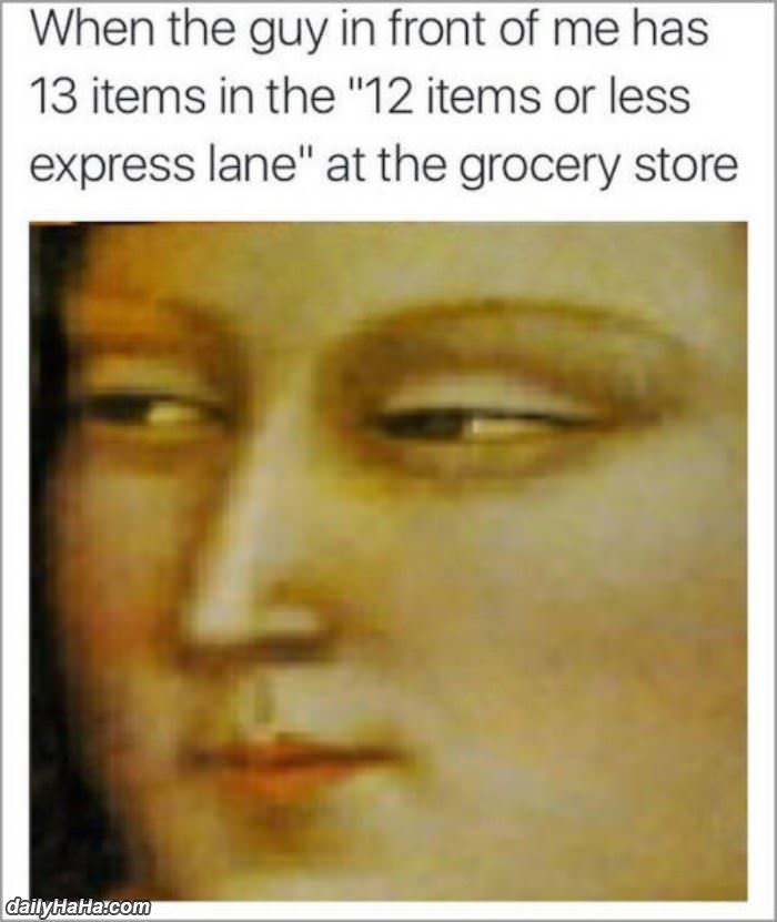 12 items or less funny picture