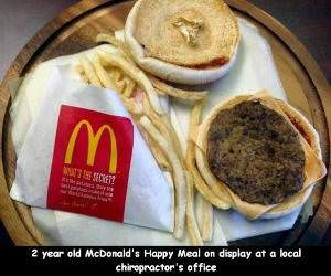 2 Year Old McDonalds funny picture