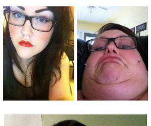 25 women making faces funny picture