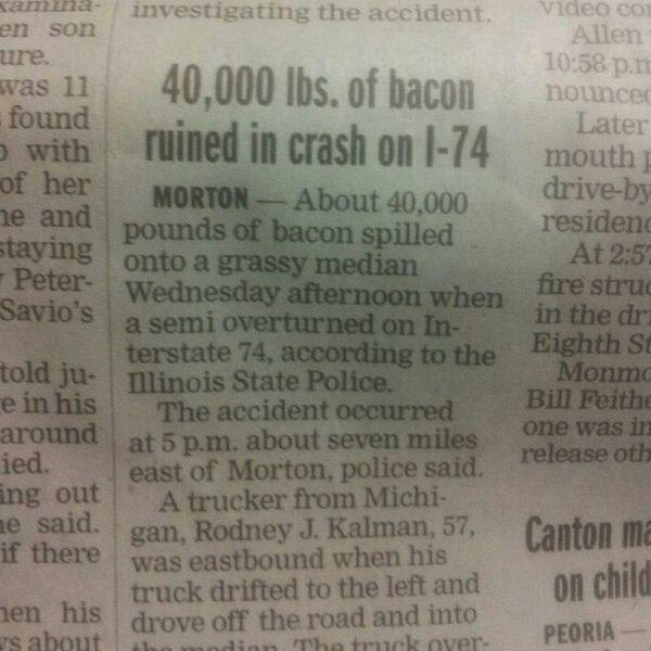 Lots of Bacon funny picture
