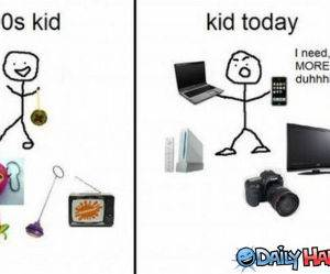90s and Today funny picture