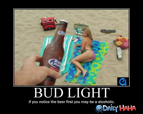 Bud Light Beer funn ypicture
