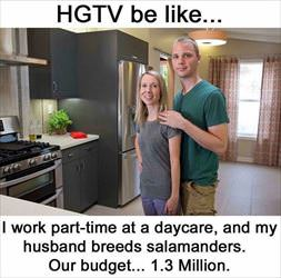 HGTV be like