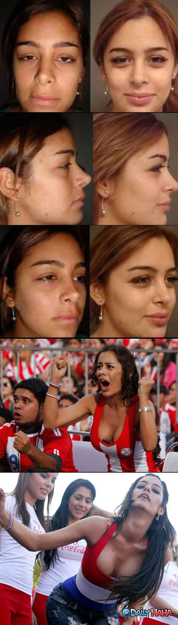 Larissa Riquelmes New Look funny picture