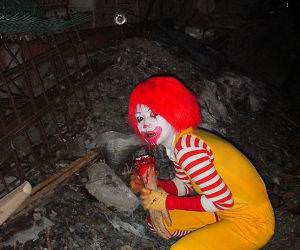 Ronald McDonalds Evil Twin