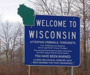 Welcome To Wisconsin funny picture