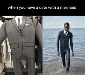 a date with a mermaid