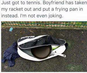 a new tennis racket