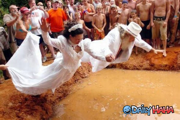 Redneck Wedding funny picture