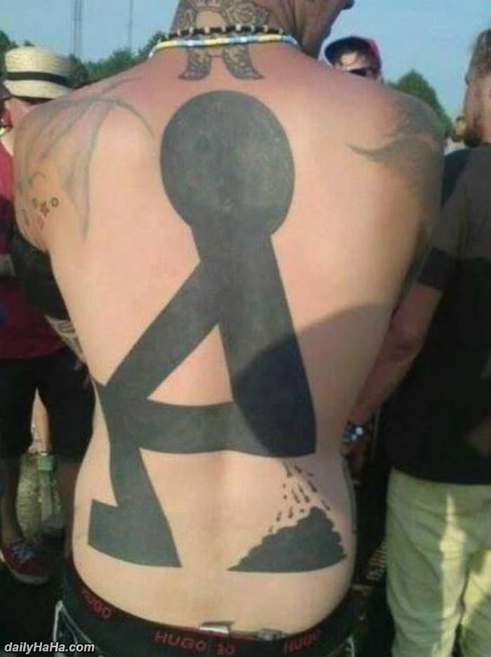 a classy tattoo funny picture