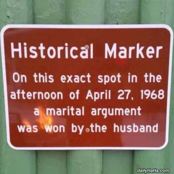a historical marker die or funny hilarious picture