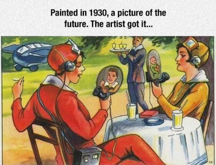 a picture of the future funny picture