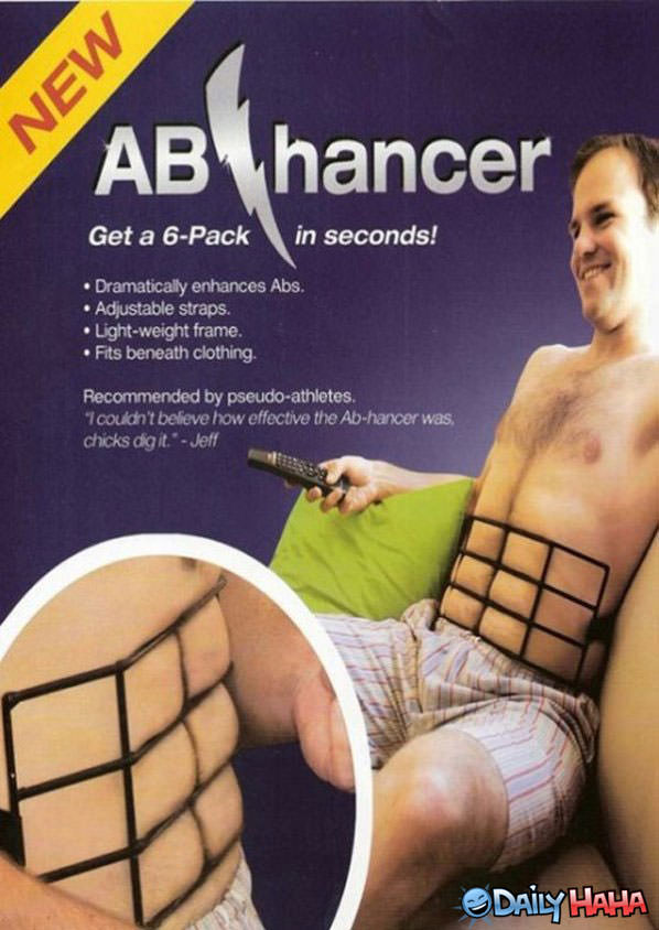 Ab Enhancer funny picture