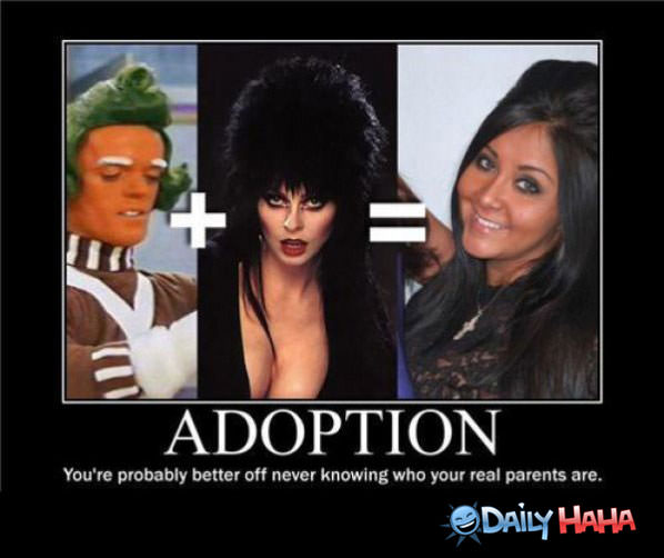 Adoption funny picture