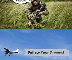 air support funny picture