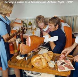 airline snack back in the day