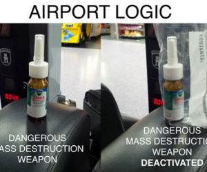 Airport Logic funny picture