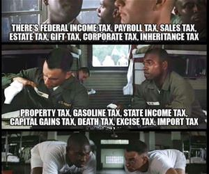 all kinds of taxes funny picture