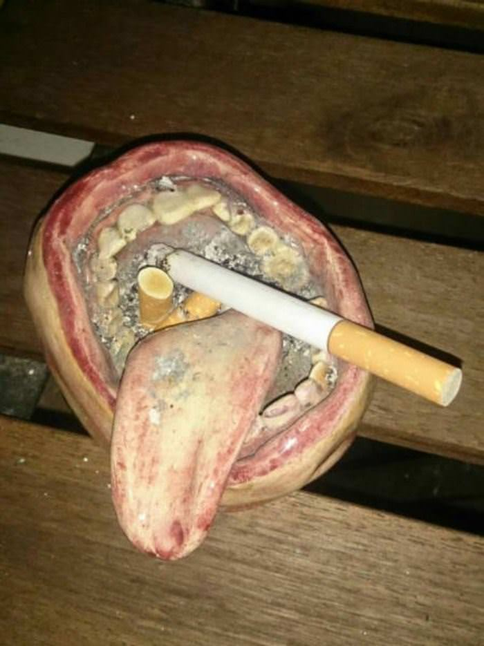 amazing ash tray funny picture
