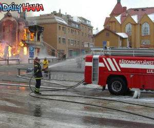 Amazing Fire Fighting