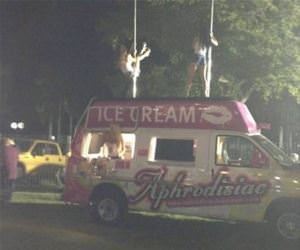 an adult ice cream truck funny picture