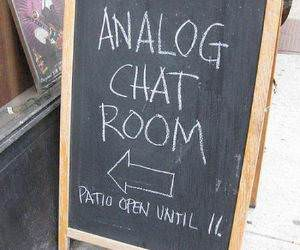 Analog Chat Room funny picture