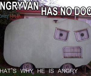 Angry Van is angry