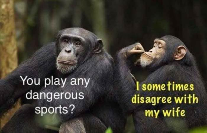 any dangerous sports