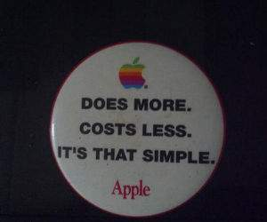 apple costs less funny picture