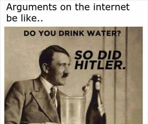 arguments on the internet