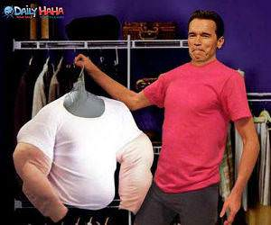 Arnold Muscles Suit