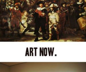 art then vs art now funny picture