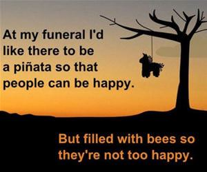 at my funeral funny picture