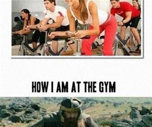 at the gym funny picture