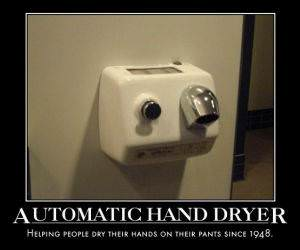 Automatic Hand Dryer funny picture