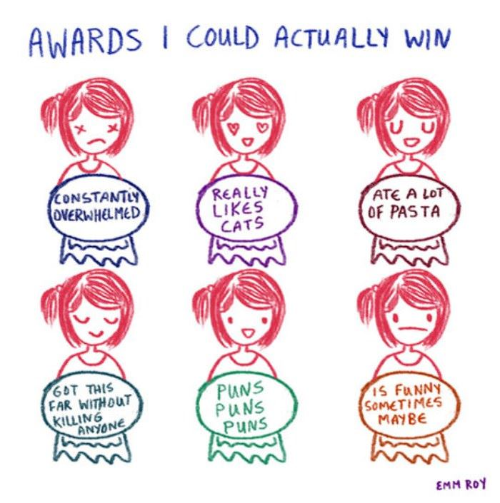 awards i could actually win funny picture
