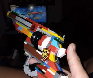 awesome lego gun