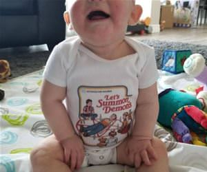 awesome baby onesie funny picture