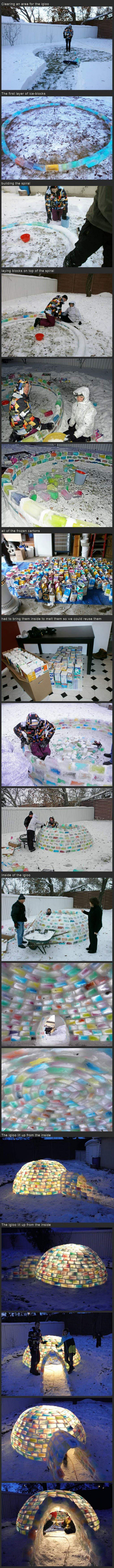 awesome igloo funny picture