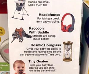 baby essentials funny picture